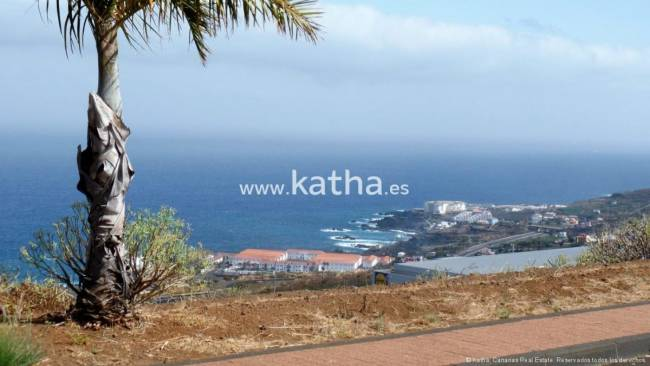 Building land with project on La Palma