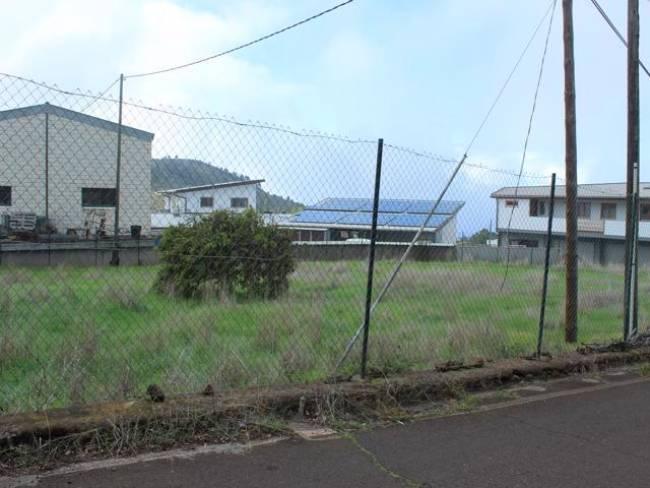 Fenced building plot on La Palma