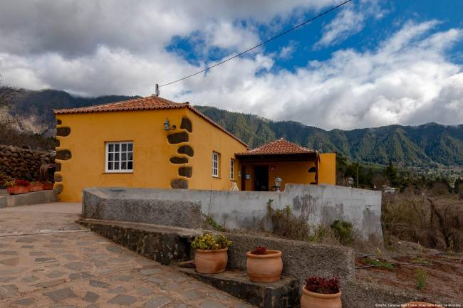 House on La Palma in a beautiful natural location