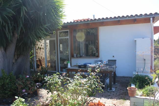 House on La Palma next to the Barranco de Angustias