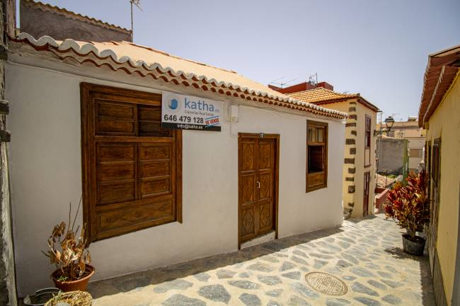 Canarian house completely renovated