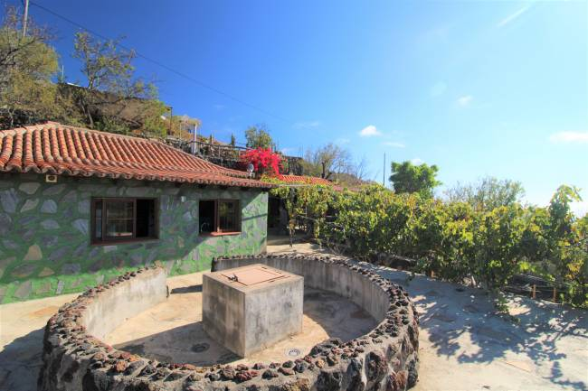 Nice cottage with land in Las Manchas