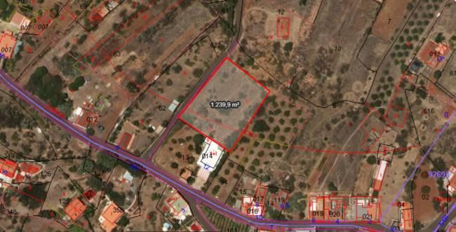 Building plot in Puntagorda