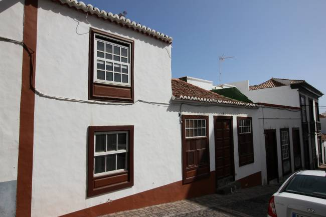 Canarian house located in the historic district