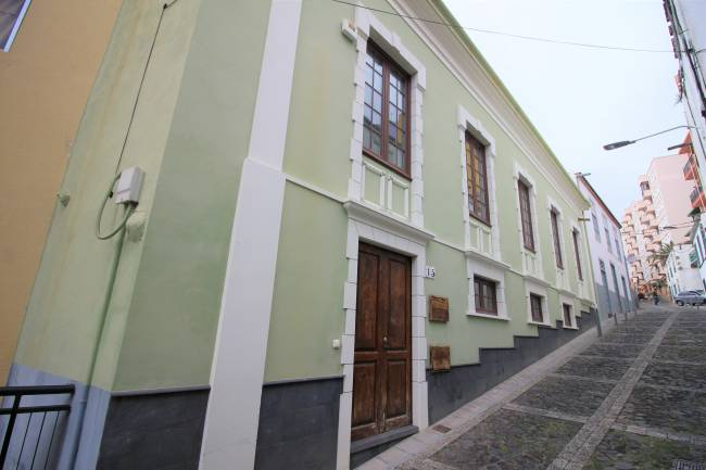 Big colonial house in the city center