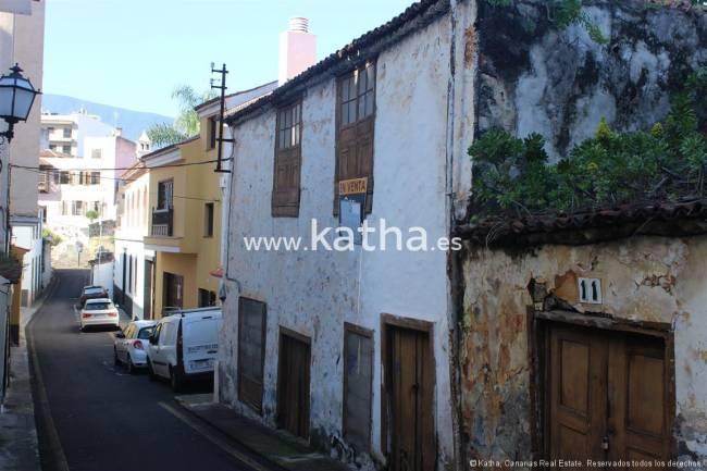 Teneriffa Renovierungsbedürftiges Haus in der Altstadt von La Orotava